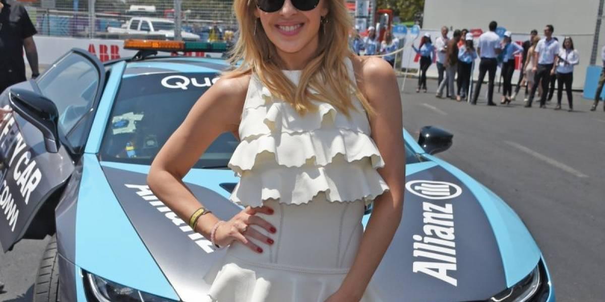 Kylie Minogue, la otra estrella que brilla en la Fórmula E