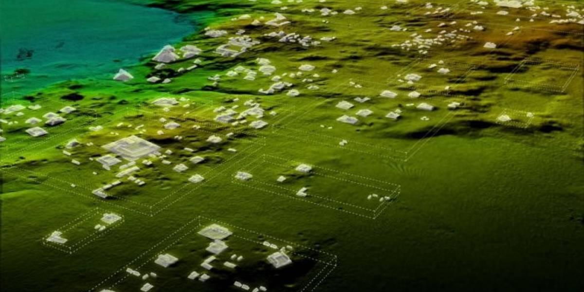 """Encuentran ruinas de impresionante """"megalópolis"""" maya en Guatemala"""