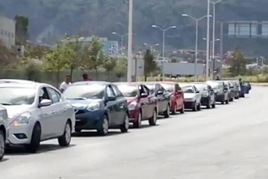 Protestan choferes de Uber tras ataques a compañeros