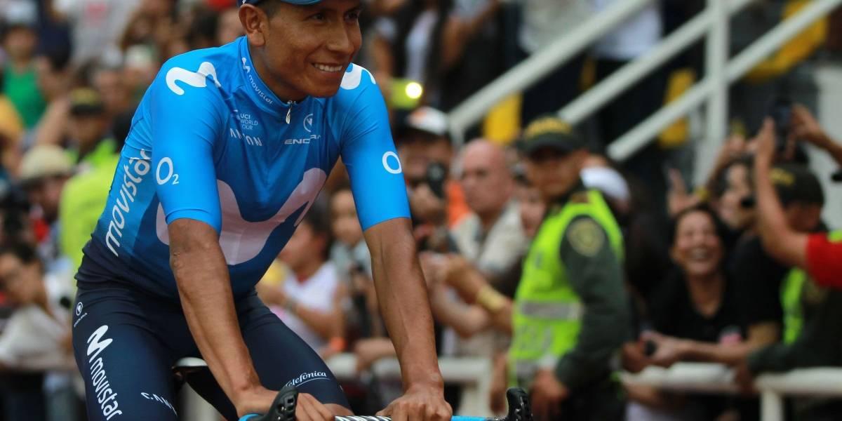 La caída de Nairo Quintana que asustó a todos en la Colombia Oro y Paz
