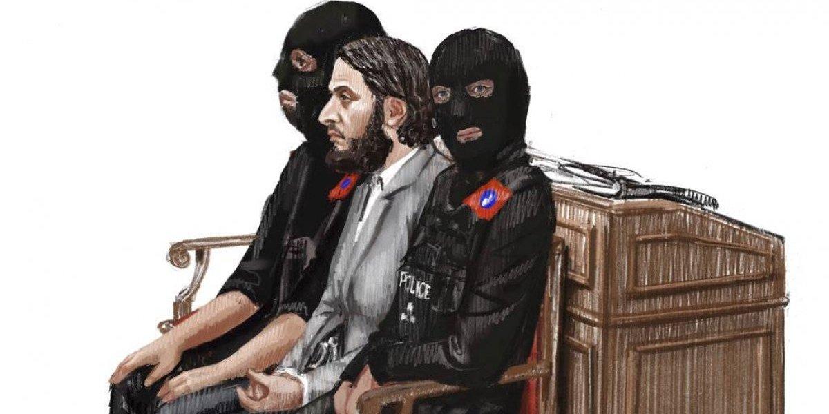 Sospechoso de ataques de París se niega a volver al tribunal