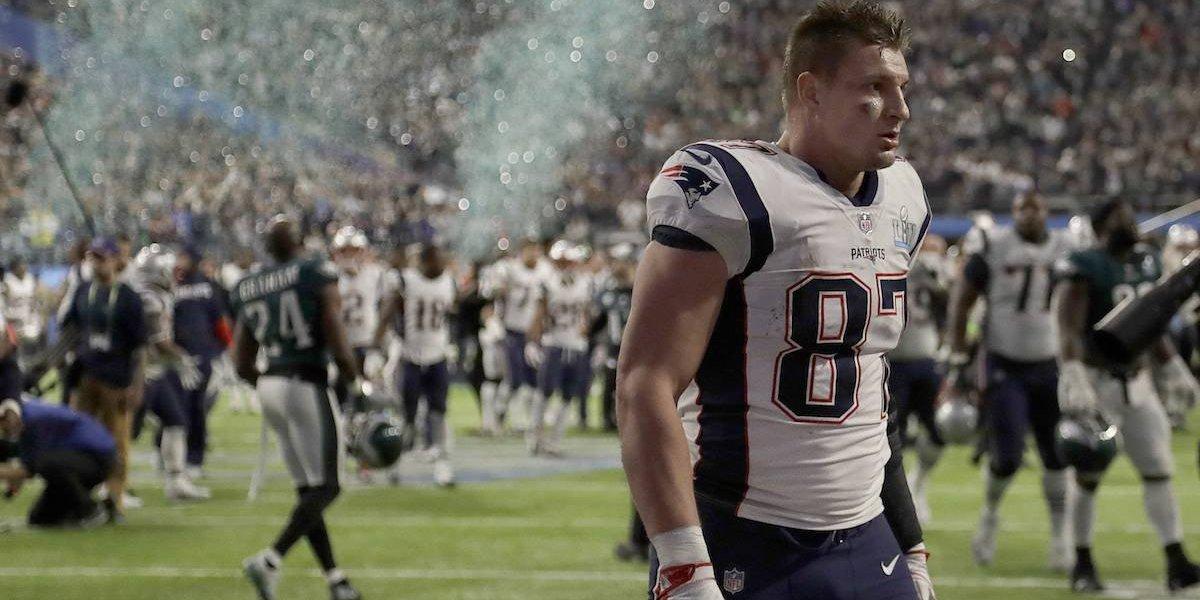 Robaron casa de Rob Gronkowski de los Patriots mientras disputaba el Super Bowl