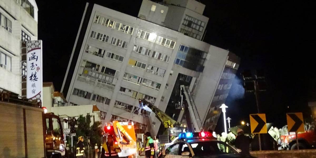Al menos dos muertos, un desaparecido y 202 heridos tras terremoto en Taiwán