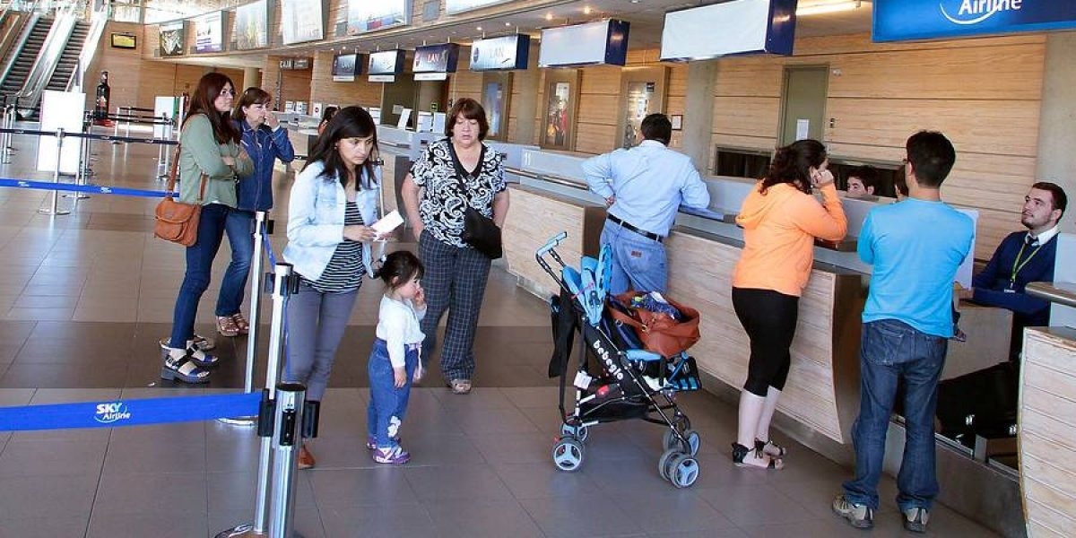 Concepción e Iquique tendrán conectividad aérea directa a partir de abril