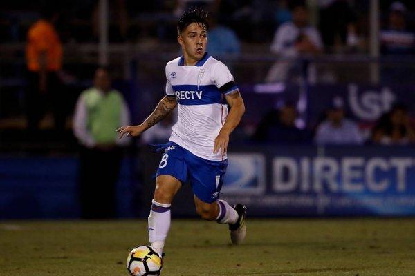 Jaime Carreño fue titular en el debut de la UC en el Campeonato Nacional 2018 / Foto: Agencia UNO