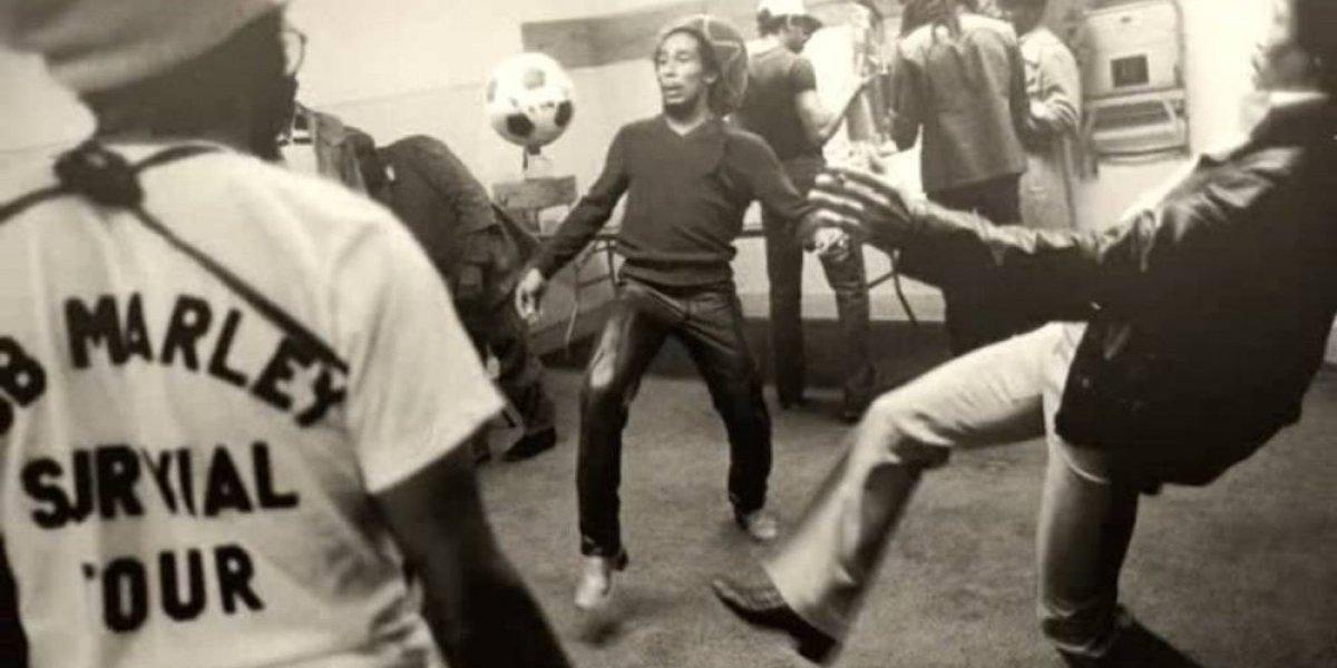 La otra gran pasión de Bob Marley: el futbol