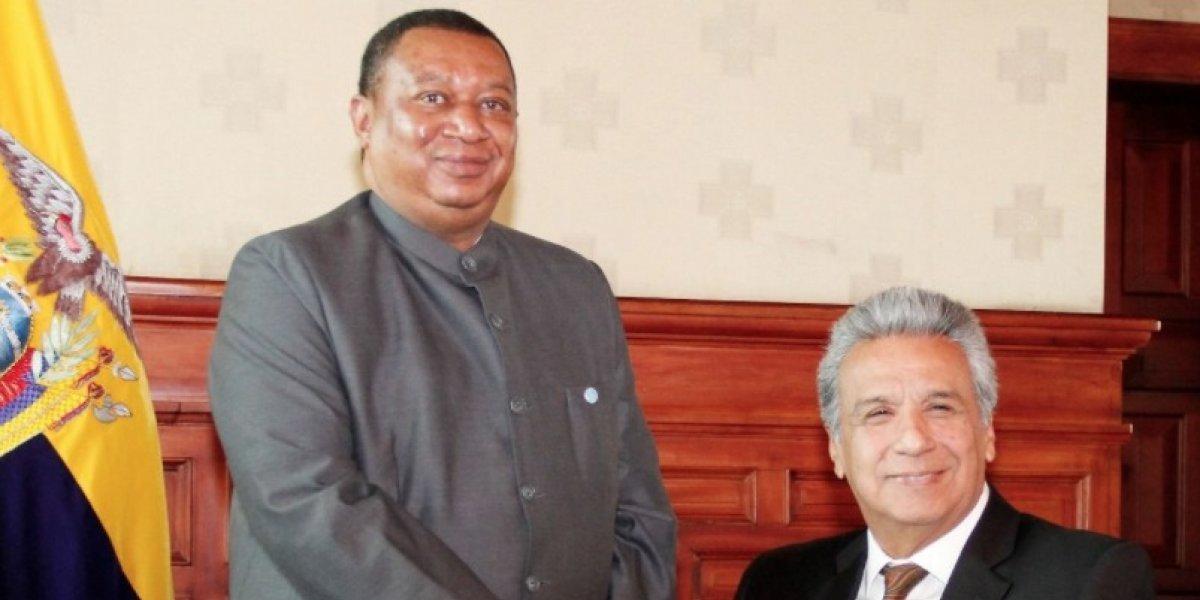 Lenín Moreno se reunió con el Secretario General de la OPEP