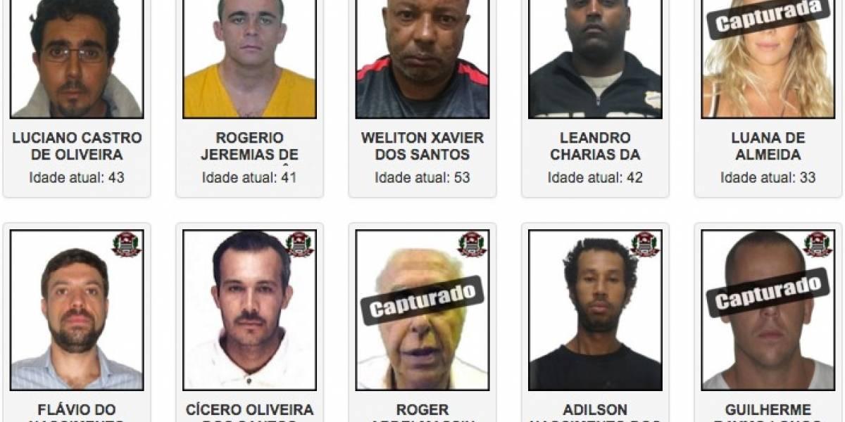Veja quem são os criminosos mais procurados pela polícia de São Paulo
