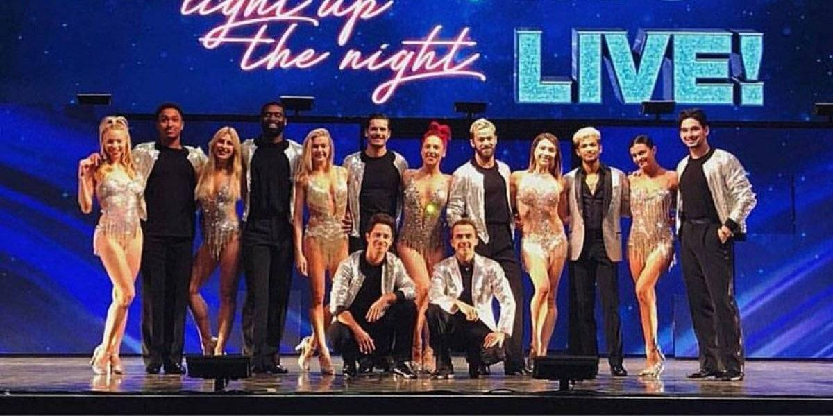 Autobús de gira de 'Dancing with the Stars' en gran choque
