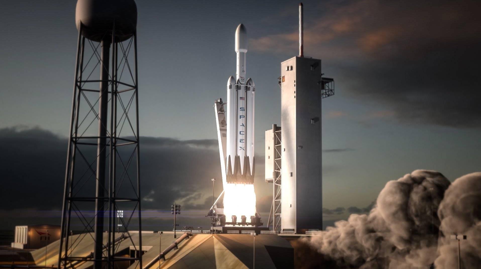 SpaceX pierde nuevamente el núcleo central del Falcón Heavy luego de un lanzamiento exitoso