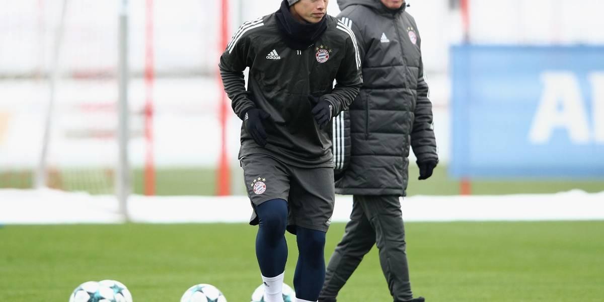 ¡James y su posible regreso al Real Madrid!