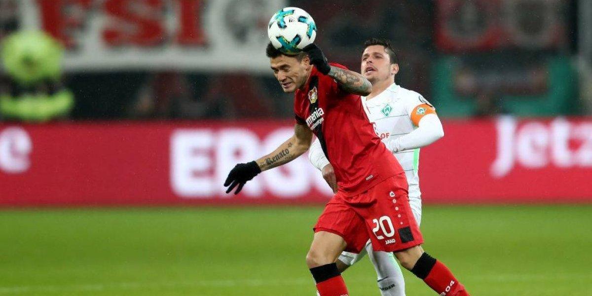 Aránguiz lideró la heroica clasificación del Leverkusen en la Copa de Alemania