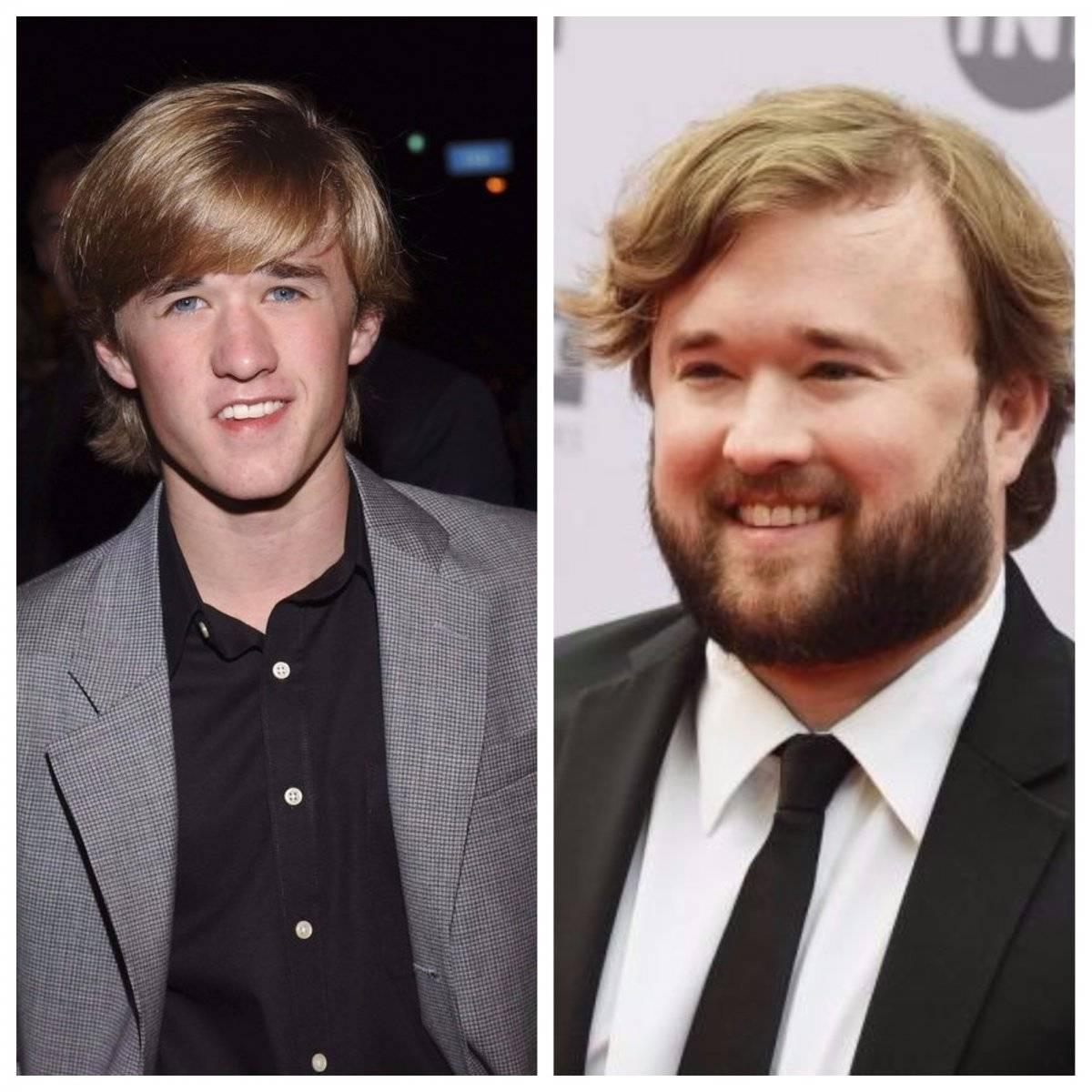Antes y después de Haley Joel Osment