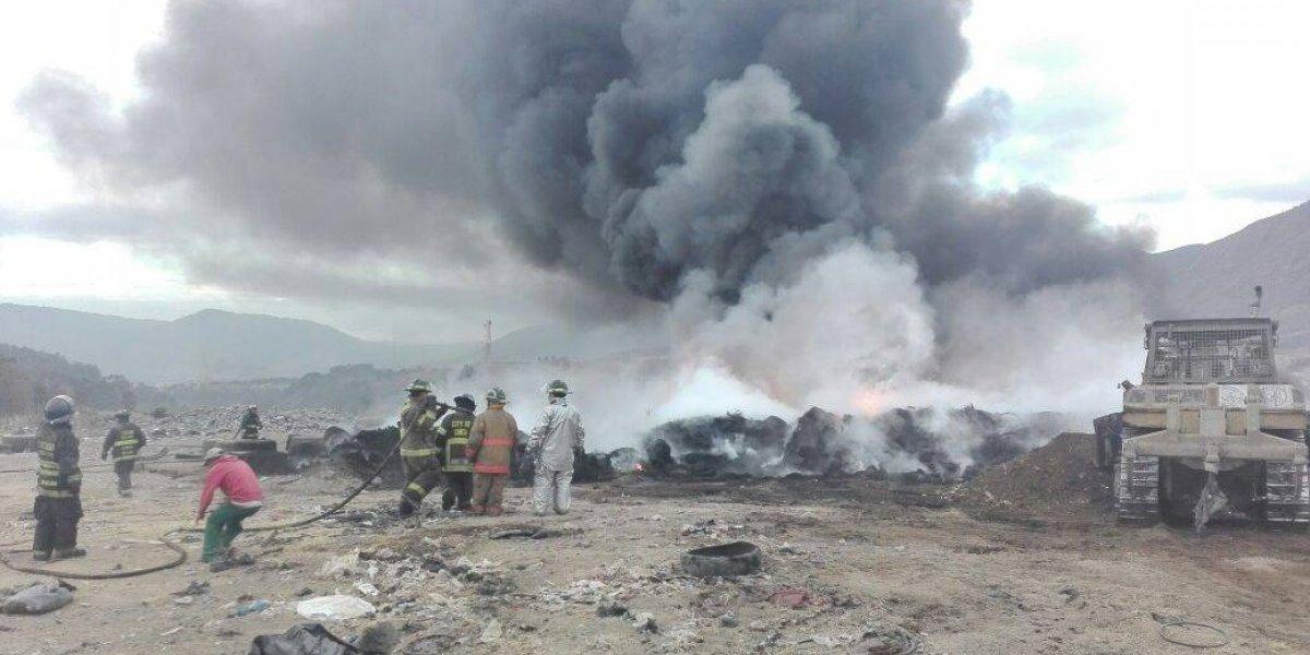 Reportan incendio en kilómetro 22 de la ruta al Pacífico