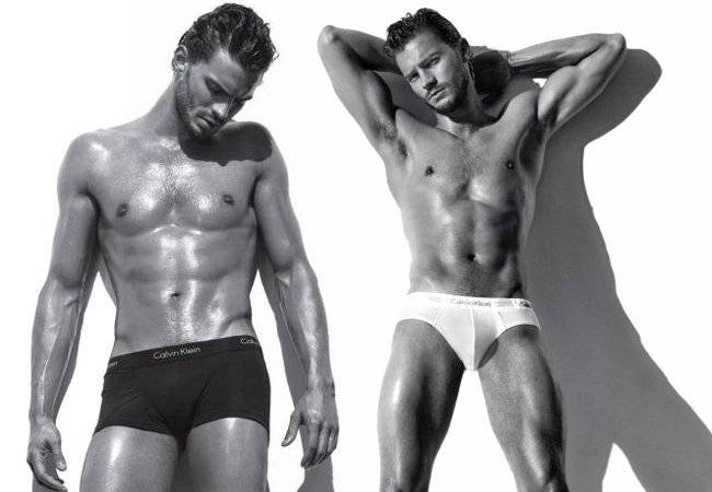 Jamie Dornan underwear