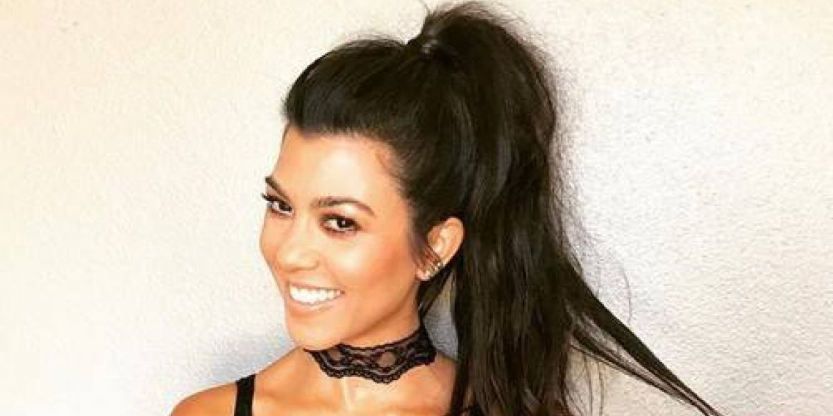Kourtney Kardashian confiesa el secreto detrás de sus candentes atributos