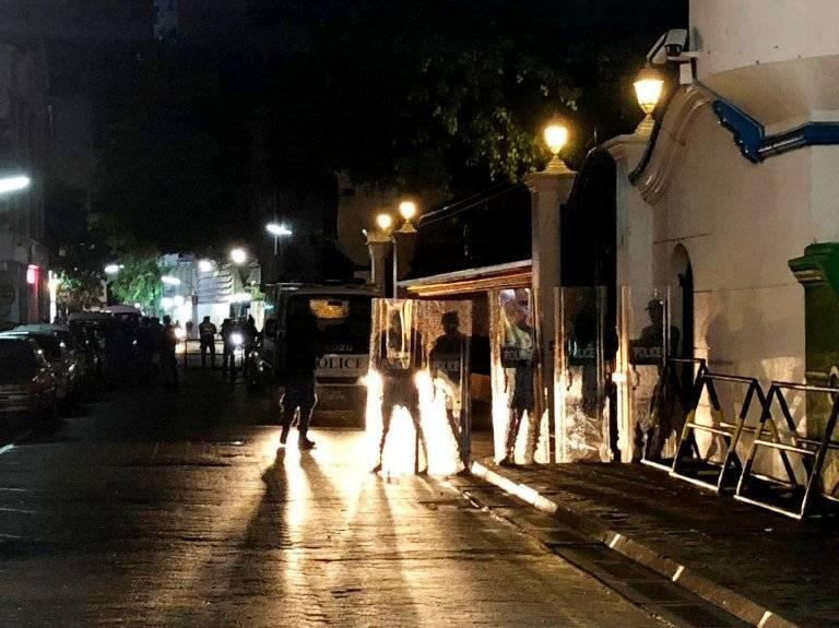 Crisis política en Maldivas