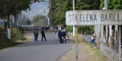 manifestación en Santa Elena Barillas, Villa Canales