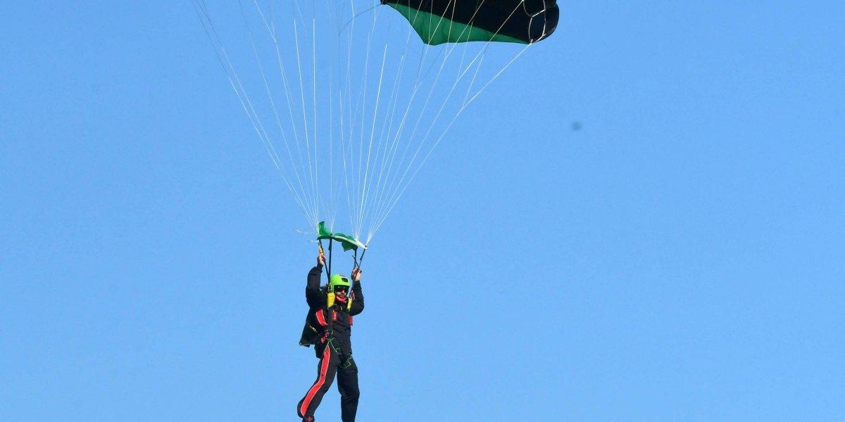 Crece el interés por el paracaidismo
