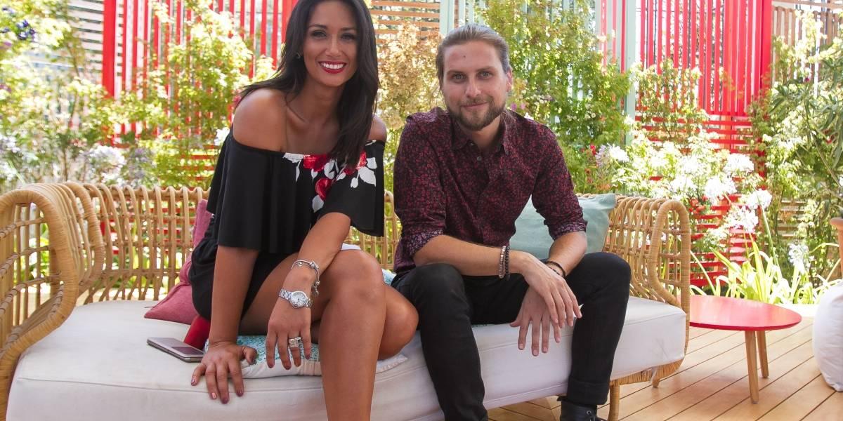 Jean Philippe Cretton y Pamela Díaz: La nueva y dispar dupla de CHV que se quiere consolidar este verano