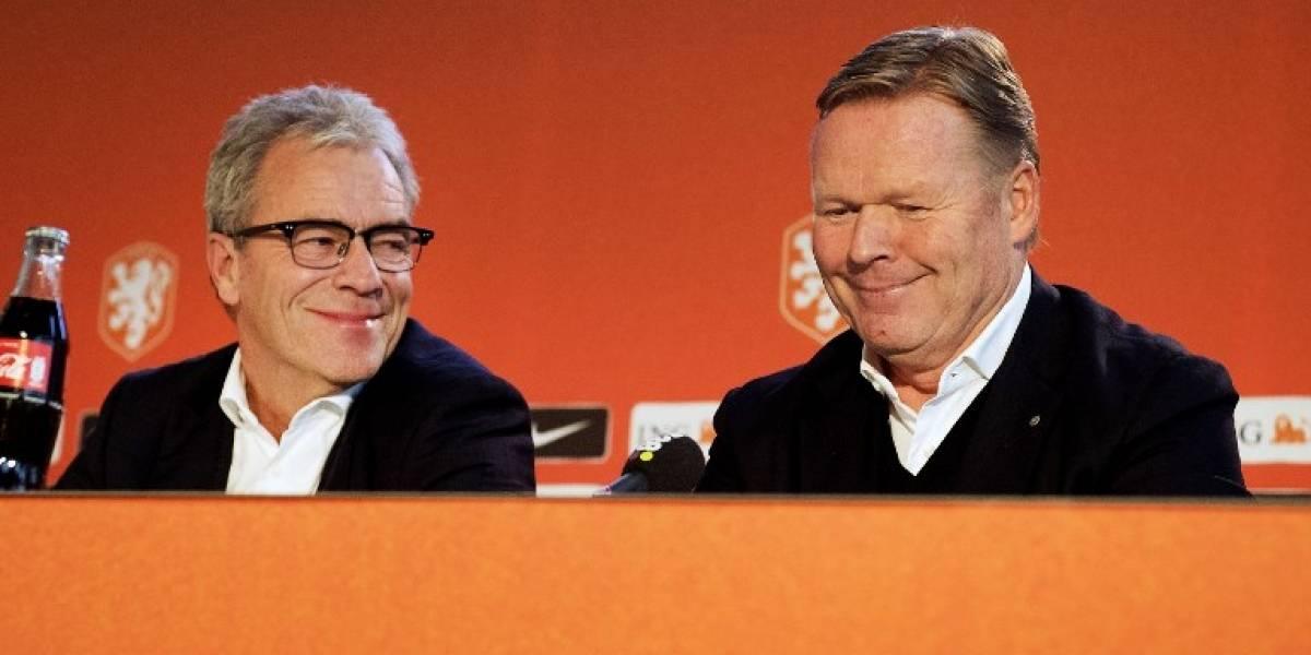 Holanda, sin Mundial, nombra a un nuevo entrenador