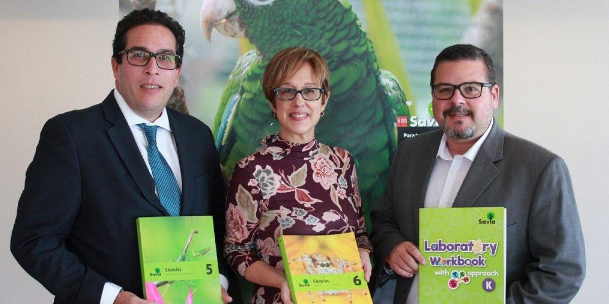 Ediciones SM presenta el proyecto educativo SAVIA Ciencias