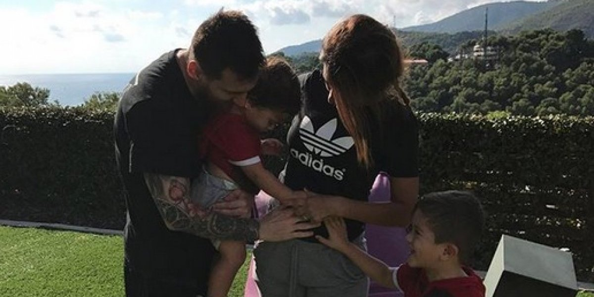 Messi da a conocer el nombre de su tercer hijo