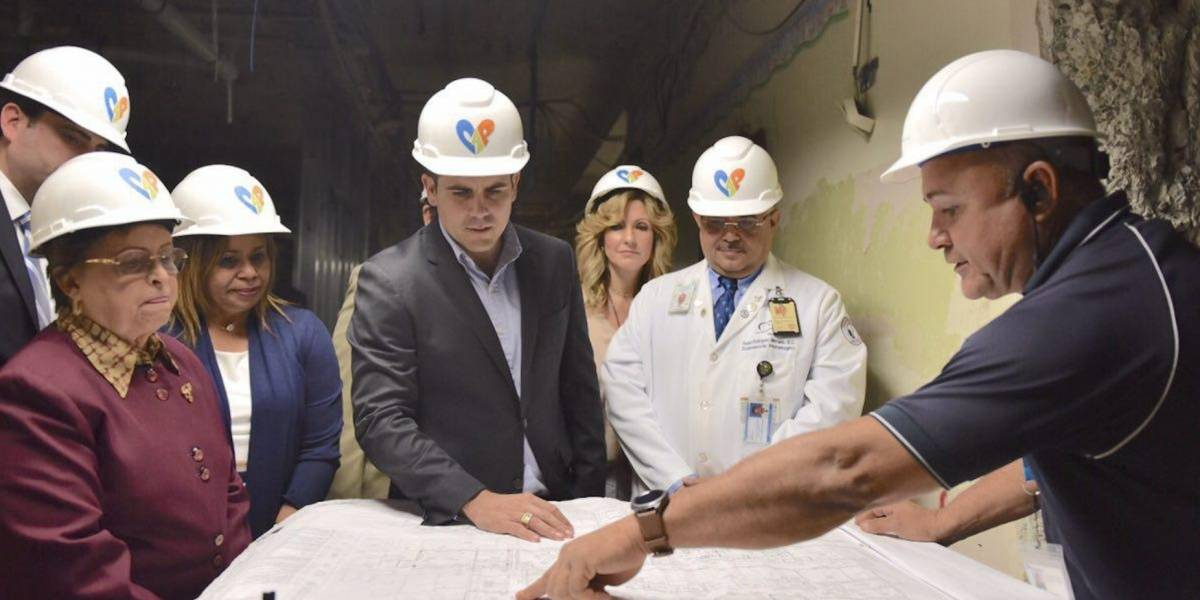 Rosselló anuncia inicio de construcción de Centro de Imágenes en Hospital Pediátrico Universitario