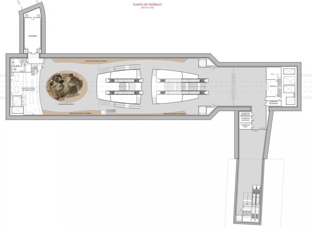 Alcaldía de Quito Diseño preliminar de la muestra museográfica en Estación San Francisco