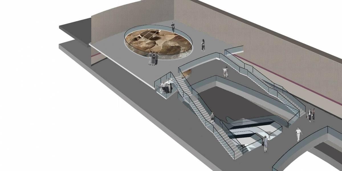 Metro de Quito: Estación San Francisco tendrá muestra arqueológica