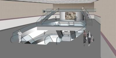 Diseño preliminar de la muestra museográfica en Estación San Francisco
