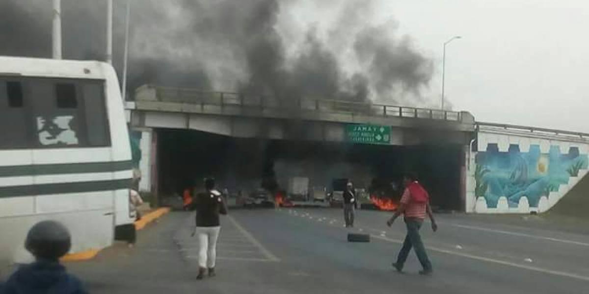 Investigan a responsables de bloqueos en Ocotlán