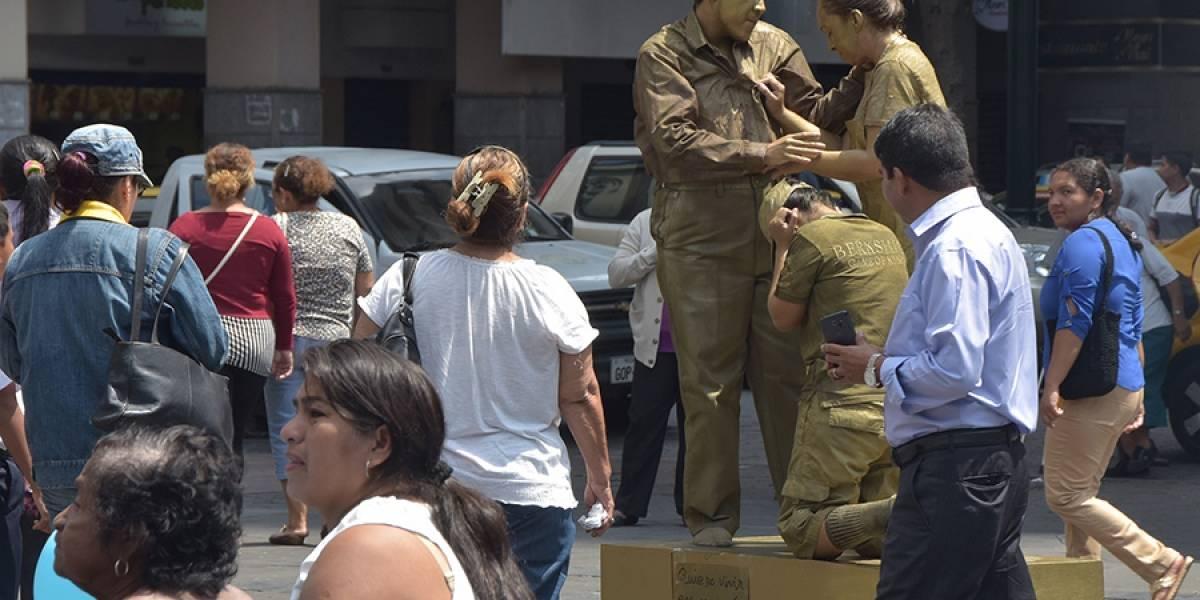 Estatuas vivientes recorrerán Guayaquil