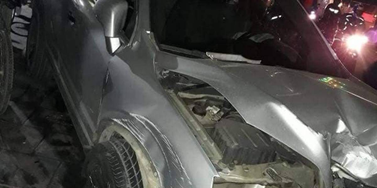 Conductor de camioneta atropelló a 16 motociclistas