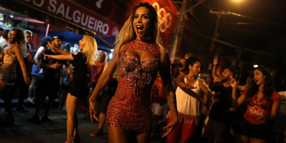 Musa trans do Carnaval carioca abre portas para diversidade e pede festa sem violência