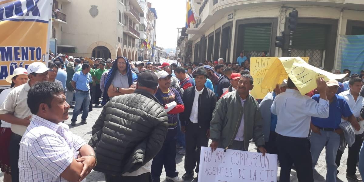 Transportistas en Cuenca rechazan ordenanza de movilidad