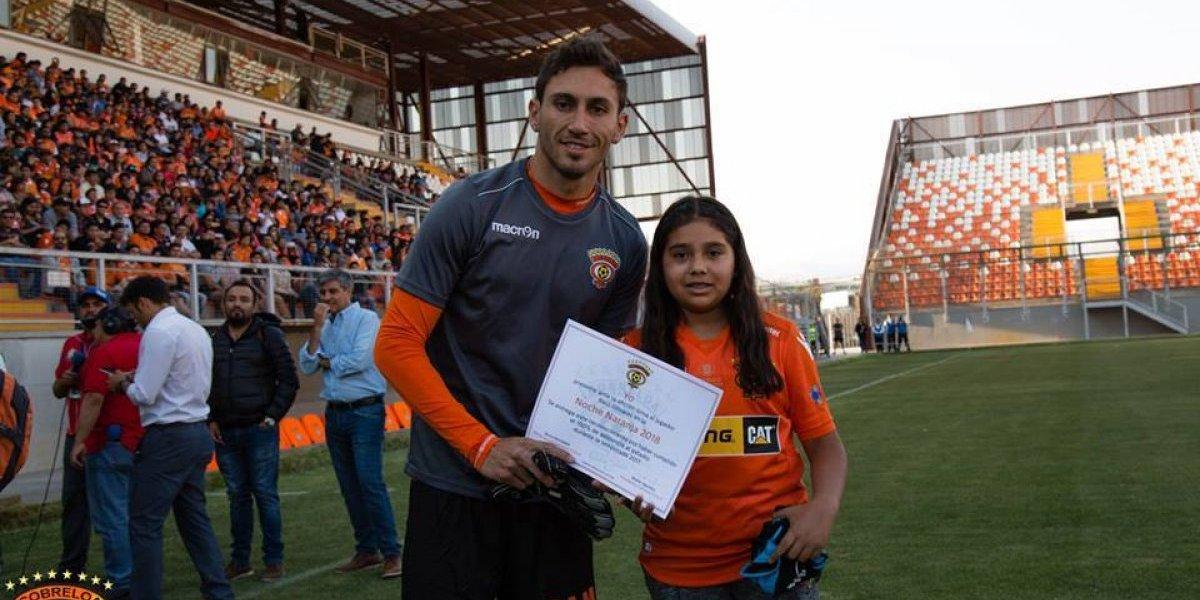"""El Araña Olivares se enamoró de Cobreloa en dos semanas: """"Me gustaría jugar mucho tiempo en Calama"""""""