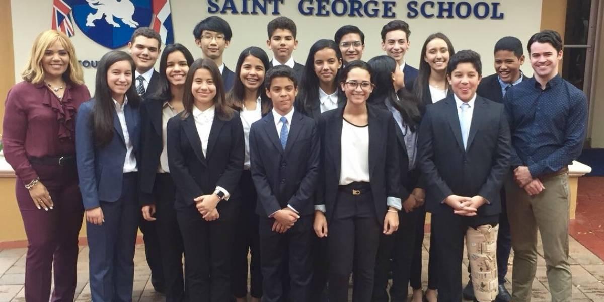 #TeVimosEn: Saint George School gana primer y segundo lugar en competencia