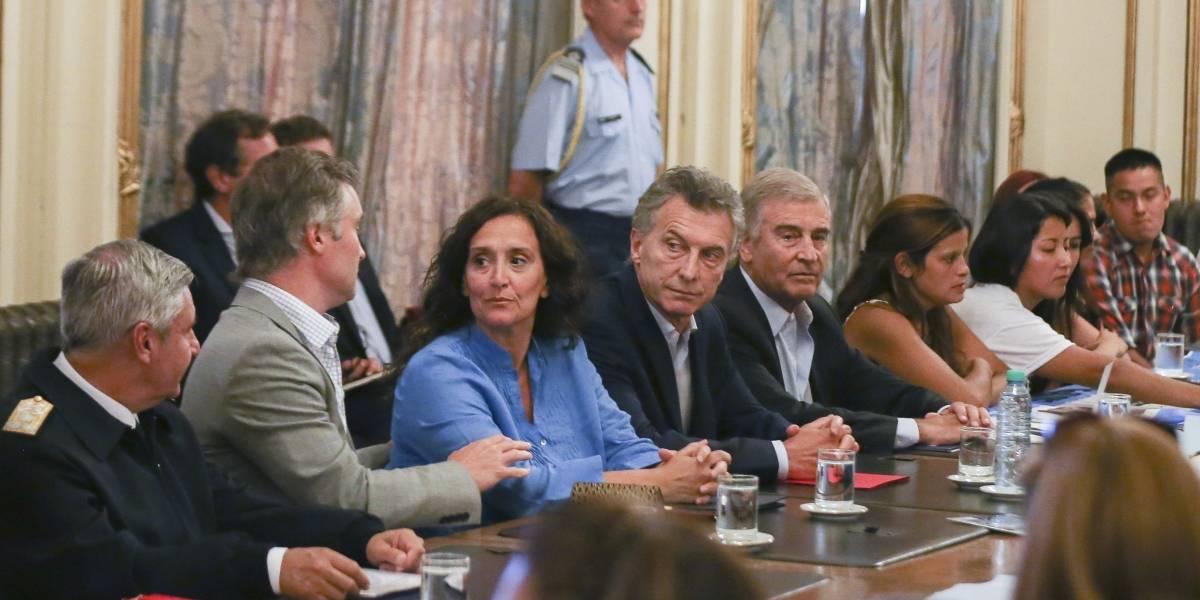 Familiares de tripulantes del ARA San Juan le pidieron explicaciones a Macri