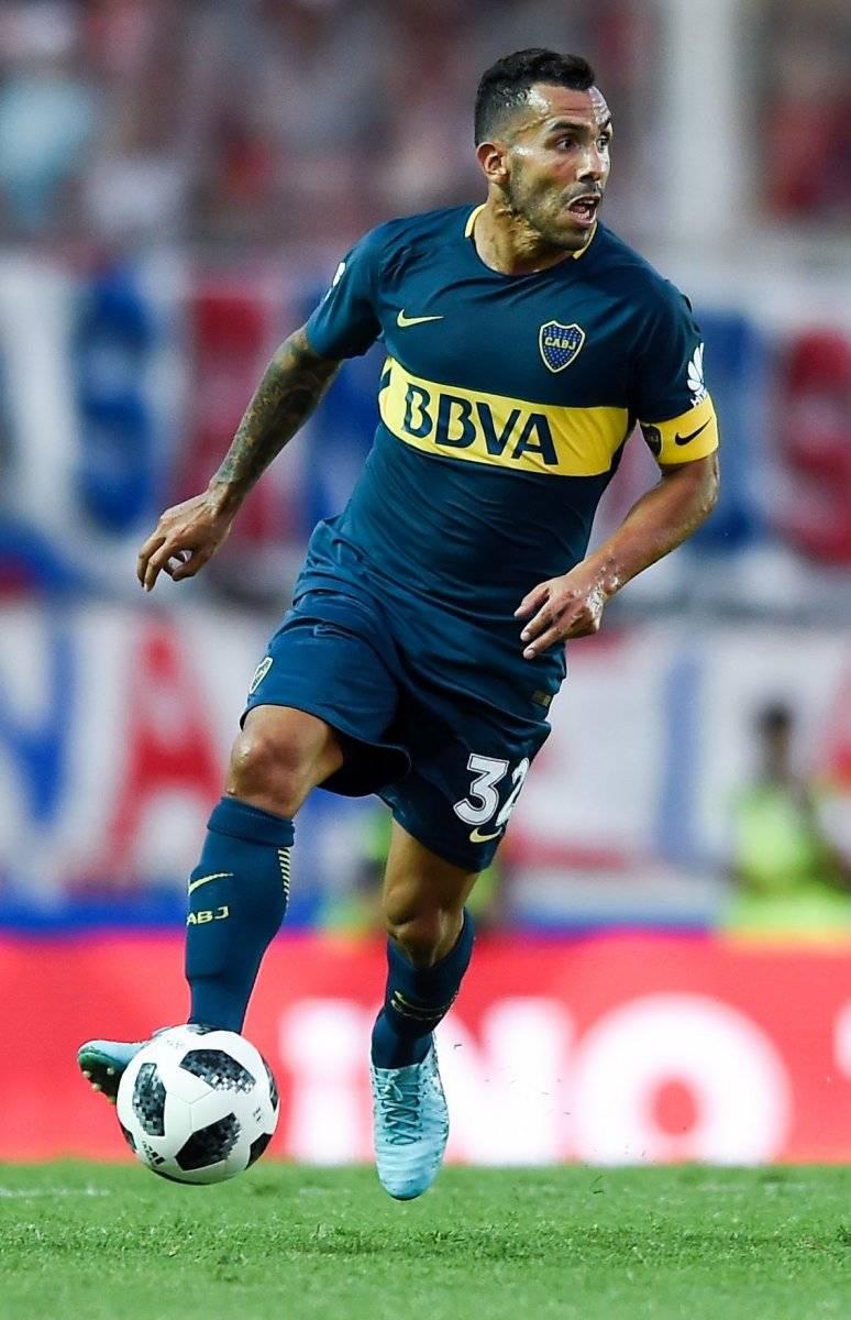 """Tévez regresó a Boca Juniors tras pasar un año de """"vacaciones"""" en el fútbol chino. Getty Images"""