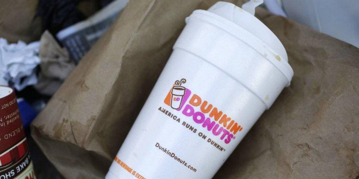 Dunkin' Donuts dejará de usar estos vasos