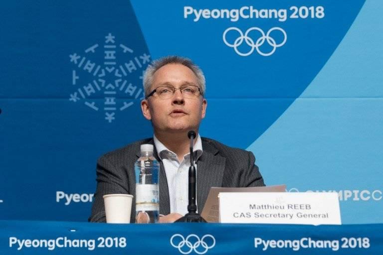 Matthieu Reeb, secretario general del TAS