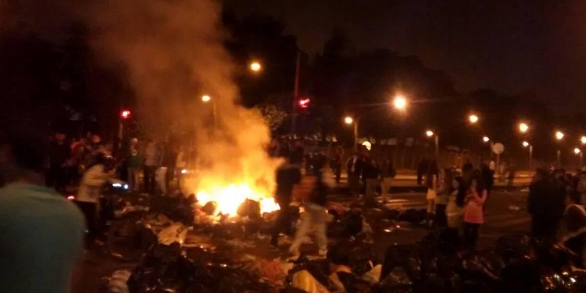 Reportan bloqueos en diferentes puntos de Bogotá por crisis de las basuras