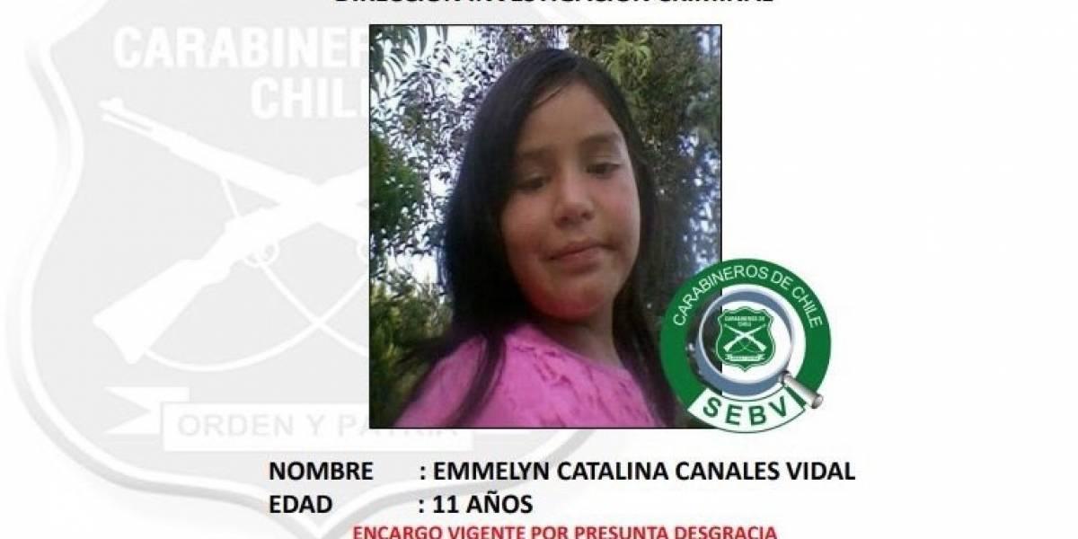 Farkas ofrece recompensa de $10 millones para quien encuentre a la pequeña Emmelyn desaparecida en Licantén