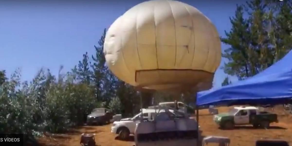 Globo aerostático y Ejército se suman a la búsqueda de la pequeña Emmelyn