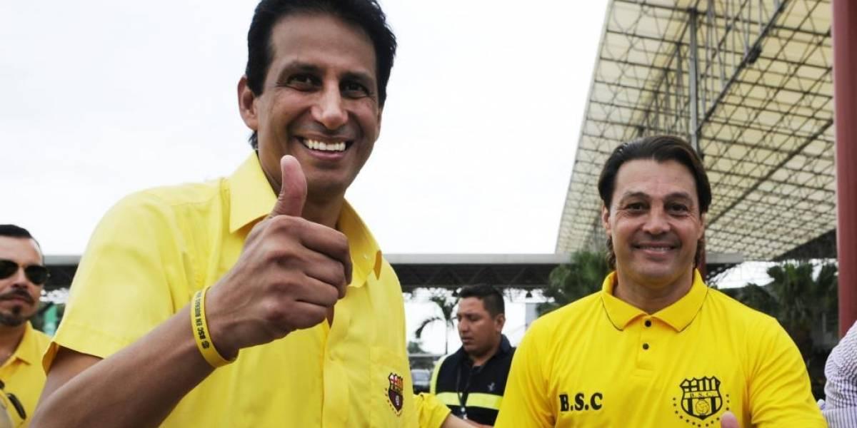 Cevallos descartó el fichaje de Urrego y la salida de Mario Pineida