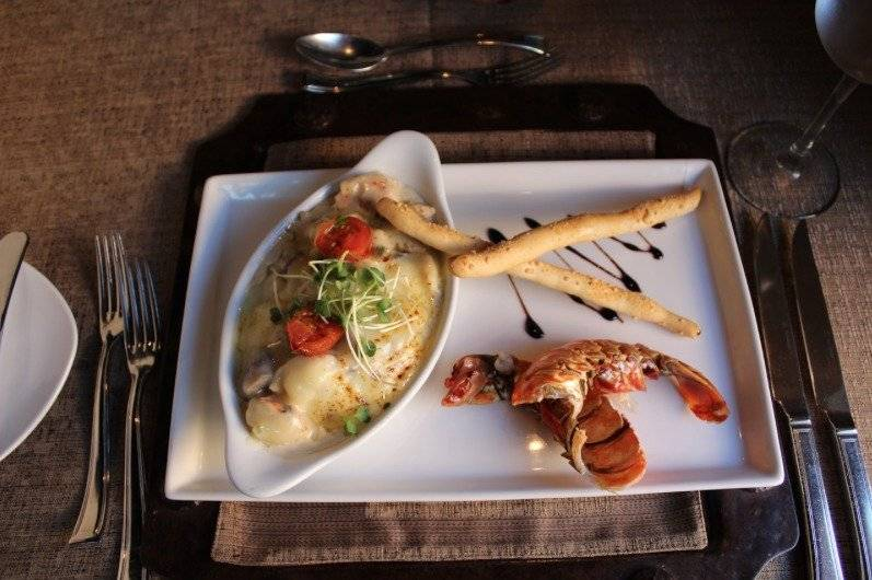 En el Festival de la langosta, podrás degustar de: langosta termidor, langosta al chiltepe y langosta al Zacapa. Foto: Hotel Camino Real Antigua Guatemala