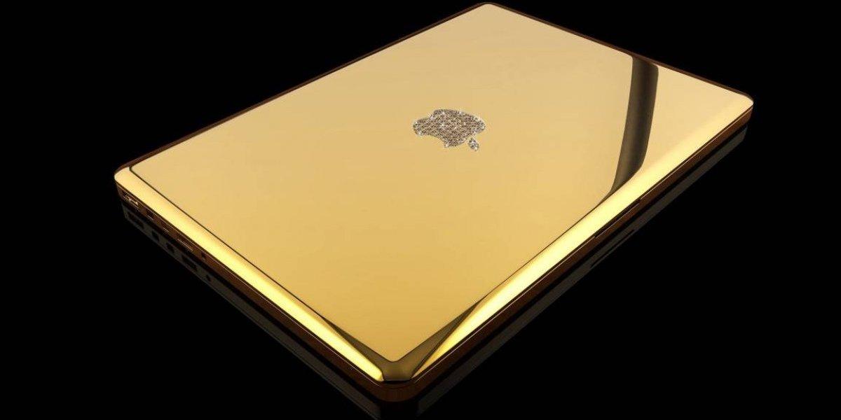 Te presentamos la MacBook Pro hecha de oro puro
