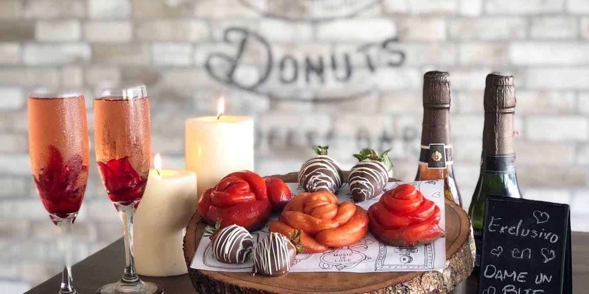 Crean alianza entre Kudough's Donut y Dame Un Bite para San Valentín