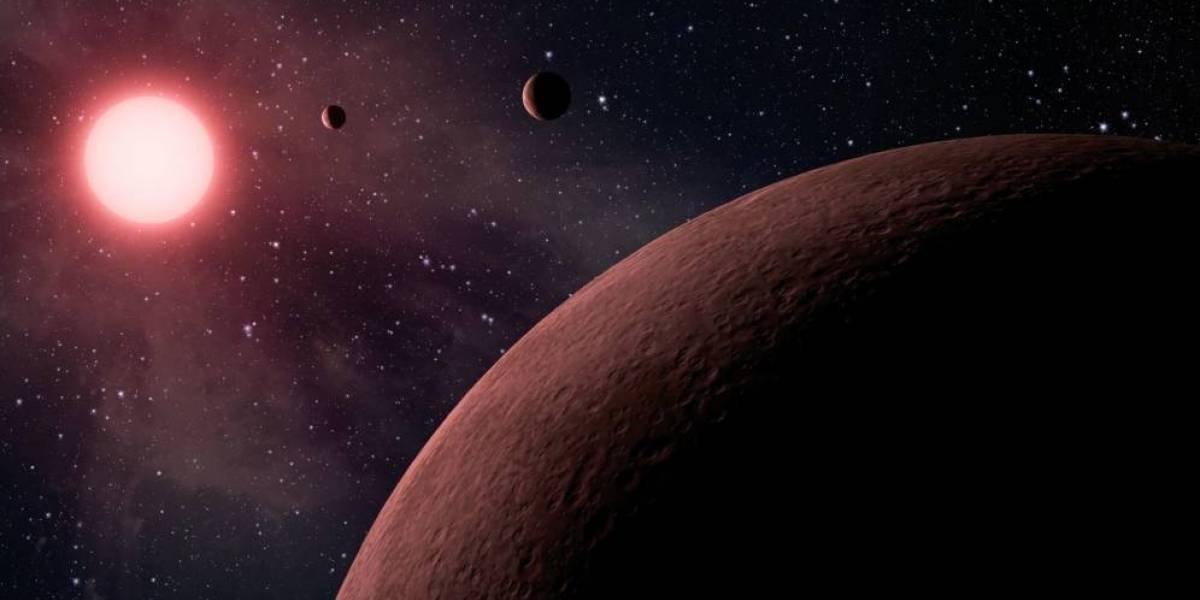 Algunos exoplanetas de Trappist-1 podrían tener más agua que la Tierra